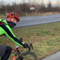 Mit dem Rad zum Wintermarathon