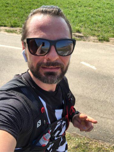 Danny virtueller Halbmarathon