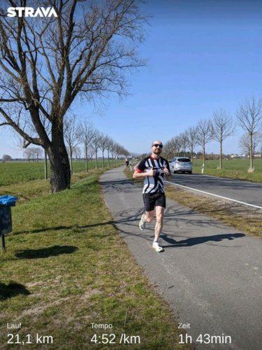 Max Virtueller Halbmarathon
