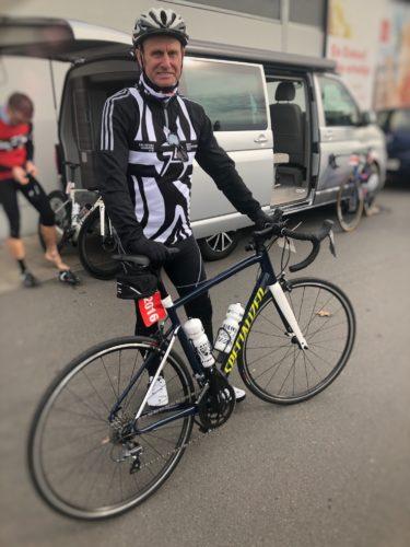Andreas beim Heideradcup 2020