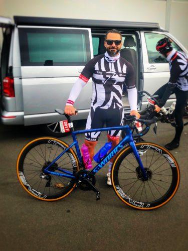 Danny beim Heideradcup 2020