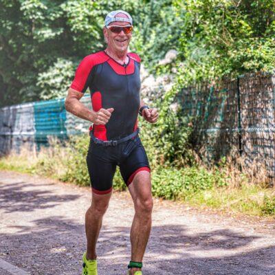 Karsten laufen Leipzig-Triathlon 2021
