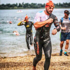 Danny Wechsel schwimmen Leipzig-Triathlon 2021
