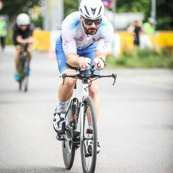 Danny radfahren Leipzig-Triathlon 2021