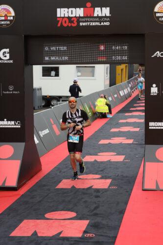 Max finish IRONMAN 70.3 Schweiz