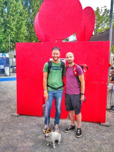 Max und Dirk Ironman Switzerland 2021